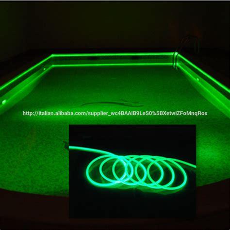 fibra ottica illuminazione prezzi 10mm trasparente in pvc solido nucleo di fibra ottica