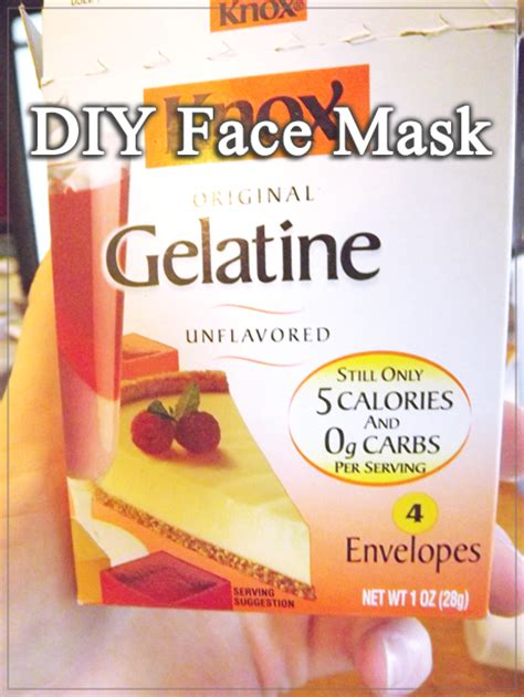 diy gelatin mask moming about diy facemask from unflavored gelatin