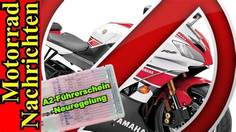 Motorrad Führerschein Neuregelung by A2 F 220 Hrerschein Neuregelung Beschlossen Wie Sieht Der