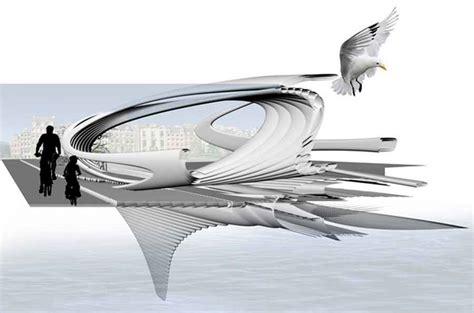 design concept uk water purification footbridge amsterdam concept design