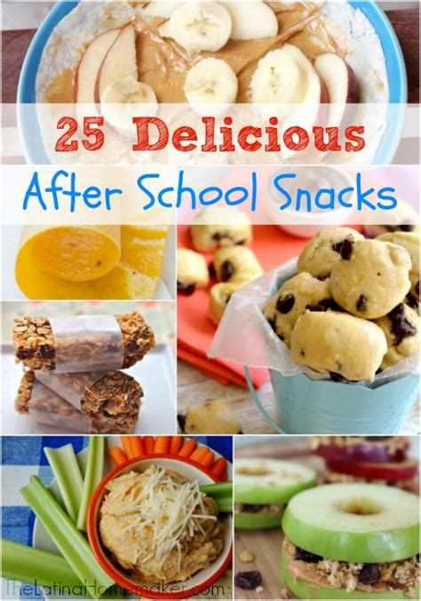 Detox Snack Ideas Fgor School by 25 Delicious After School Snacks
