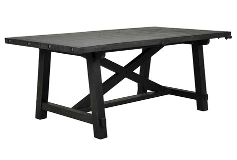 Living Spaces Dining Table Jaxon Rectangle Dining Table Living Spaces