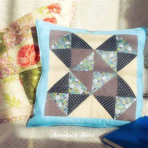 come fare cuscini come fare un bel cuscino patchwork con avanzi di stoffa