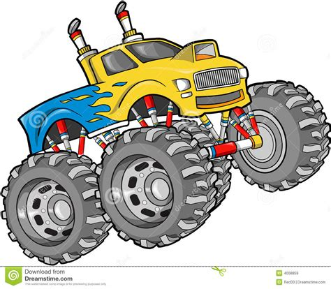free monster truck videos monster truck clip art wheels truck clipart panda