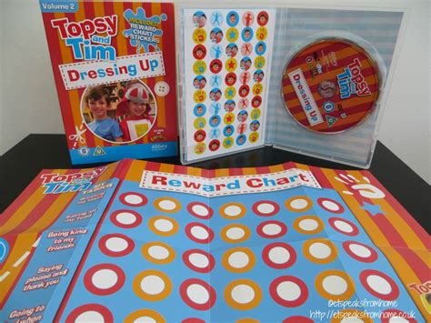 topsy and tim dressing up dvd et speaks from home