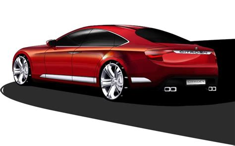 Citroen C7 by Citroen C7 Rendering News Gallery Top Speed