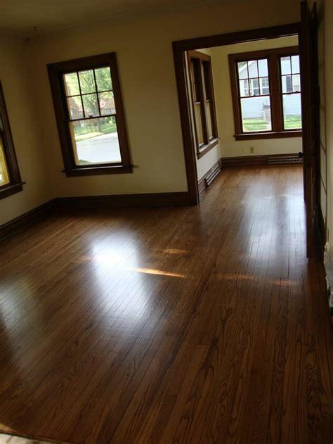 stained  painted trim  dark wood floors google