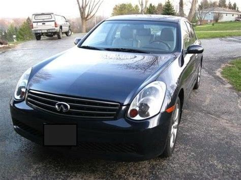 2006 black infiniti find used 2006 black infiniti g35x in wisconsin