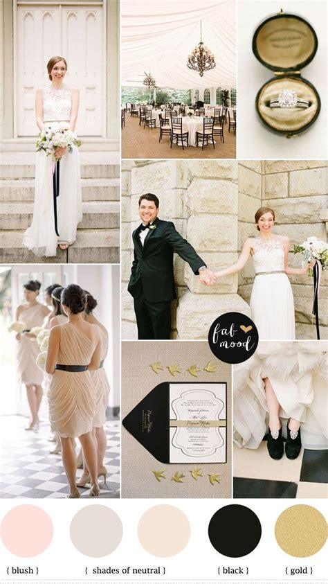 themes in black colour 25 best ideas about blush wedding colors on pinterest