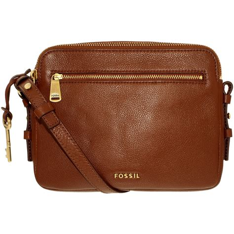 Fossil Piper Toaster Crossbod fossil s piper toaster leather crossbody leather