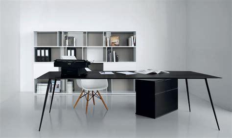 tavoli da ufficio tavolo nero rettangolare da ufficio extendo