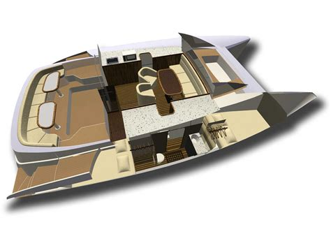 Sailboat Floor Plans by Sailng Catamaran Rb 34 Renderings Projects