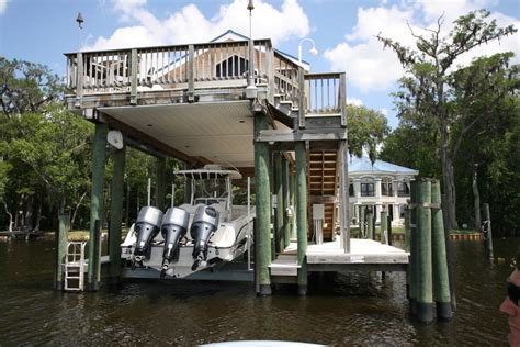 boat house photos boathouse lifts by davit master