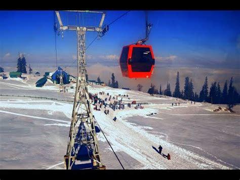 gulmarg gondola in january 2015 youtube gulmarg skiing 2015 doovi
