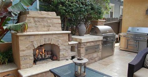 built in outdoor grill designs gary bbq fireplace