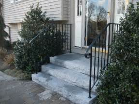 Exterior Handrail Kits For Stairs by Exterior Wrought Iron Stair Railings Wrought Iron Stair
