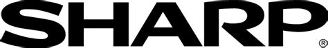 sharp logo free vector 4vector