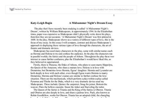 Midsummer Nights Essay by A Midsummer Night39s Essay Help Ssays For Sale