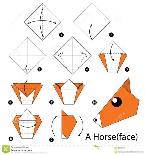 3d Origami Step By Step Illustrations - step by step how to make origami a
