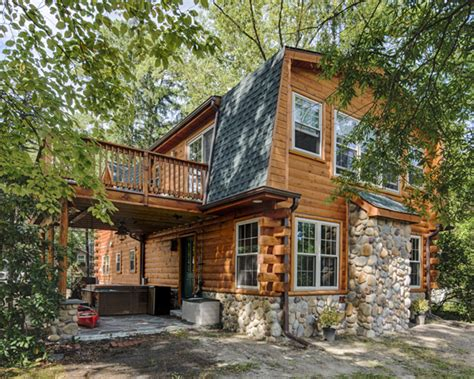 log cabin addition renovation holliday architects