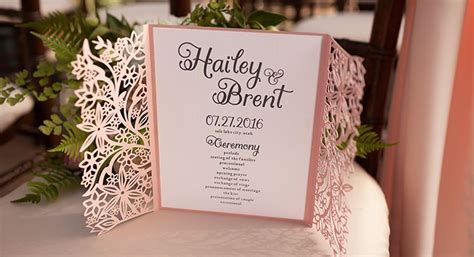 Cricut Wedding Invitation Templates