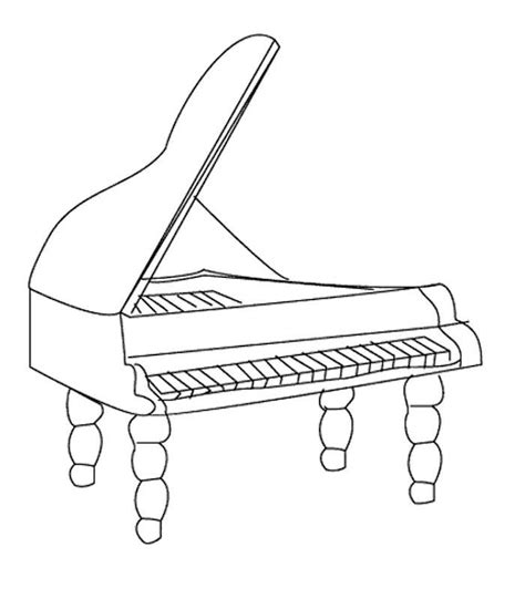 Coloring Pages Musical Instruments free instrument coloring pages