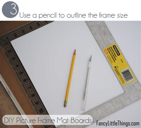 Diy Mat Board by Diy Picture Frame Mats