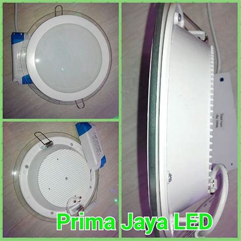 Downlight Led 1 Mata Kotak Cahaya Kuning Model Minimalis led downlight bulat kaca 18 watt