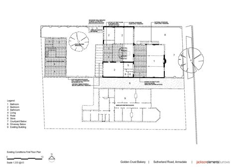 bakery floor plan gallery of golden crust bakery jackson clements burrows