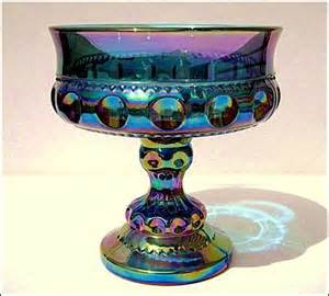 Fenton Blue Milk Glass Vase Classic And Antique Cars Collection Antiques Carnival Glass