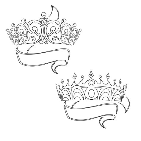 princess tiara tattoo designs the bottom one w brandons name tattoos