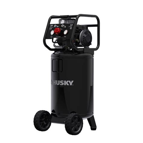husky 20 gal vertical free electric air compressor 0332013 the home depot