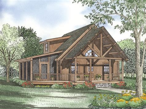 cottage floor plans with screened porch cabin plan with screened porch cabin pinterest