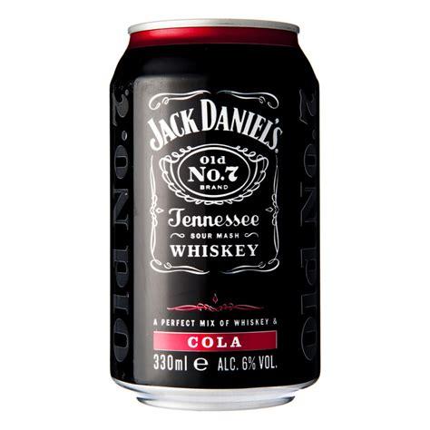 black jack whisky cola jack daniels whiskey cola 0 33 l online bestellen ah nl