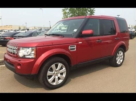 red land rover lr4 pre owned red 2013 land rover lr4 4wd 4dr v8 lux package