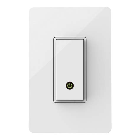 smartphone controlled light switch belkin wemo home light switch wireless controller wi fi