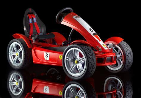 Go Kart Ferrari by Ferrari Fxx Racers Pedal Go Kart Make A Child S Dream Come