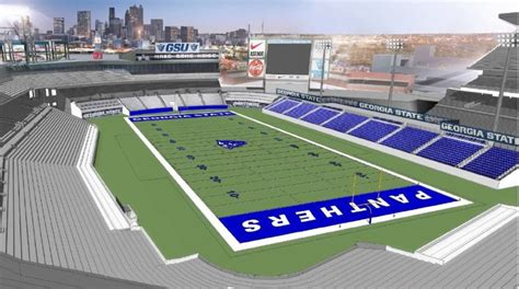 Mba In Technical Field by Turner Field How Stadium Will Look As Football Field