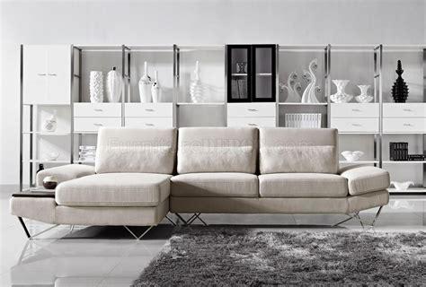 Office Depot Yorba Yorba Sectional Sofa In Beige Fabric By Vig