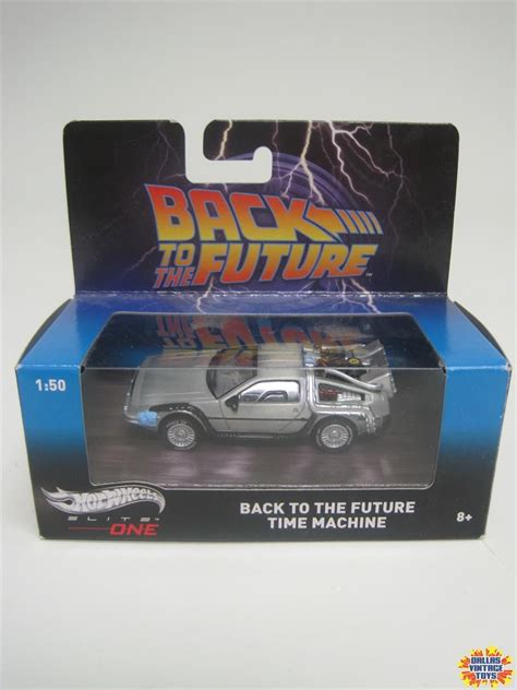 Hotwheels Elite One Back To The Future 1 2014 mattel wheels elite one back to the future time machine 1a