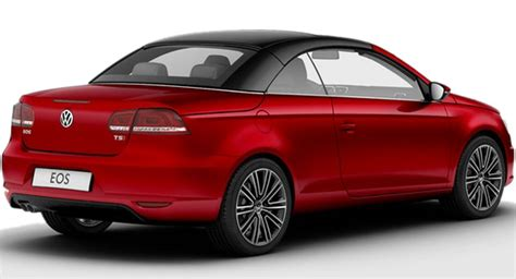 volkswagen coupe models volkswagen adds exclusive models to 2011 eos facelift range