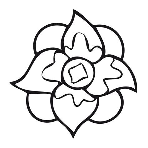 imagenes de flores grandes para dibujar flores para dibujar con color imagui