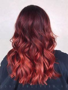 indoor and outdoor lighting vibrant hair joico ruby hair balayage color melt ombre sombre curls violet hair shiny my