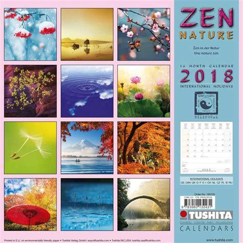 zen nature calendars   ukpostersabposterscom