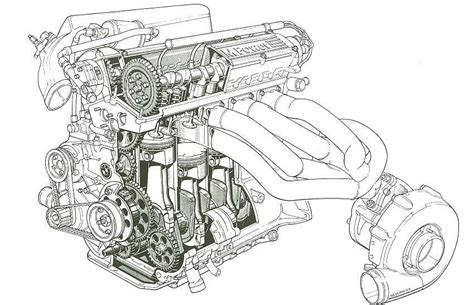 doodle engine car engines drawings designs car free engine image for