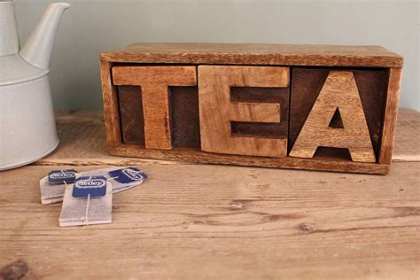 tea drawer mango wooden tea drawer by m 246 a design notonthehighstreet com