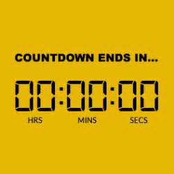 countdown timer for email embed gif countdown in email