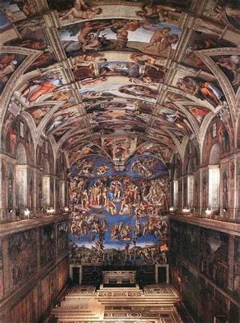 Michelangelo Sistine Ceiling by The Sistine Chapel Ceiling Michelangelo Gallery
