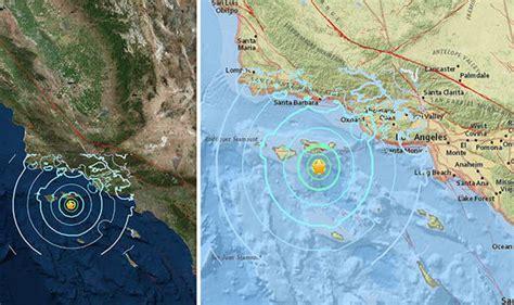 earthquake los angeles california earthquake today live latest update fault line