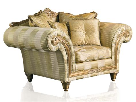 design armchair luxury classic sofa and armchairs imperial by vimercati